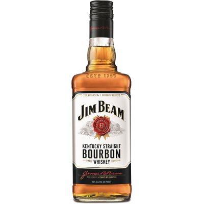 Jim Beam White Label Bourbon 750ml