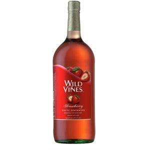 Wild Vines Strawberry White Zinfandel 1500ml