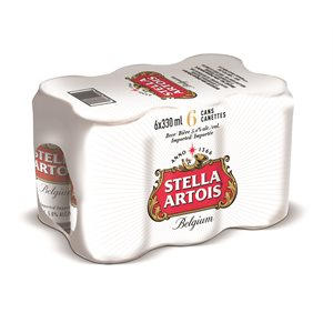 Stella Artois Lager 6 C