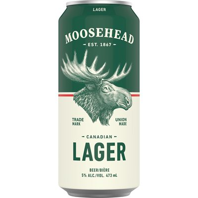 Moosehead Lager 473ml