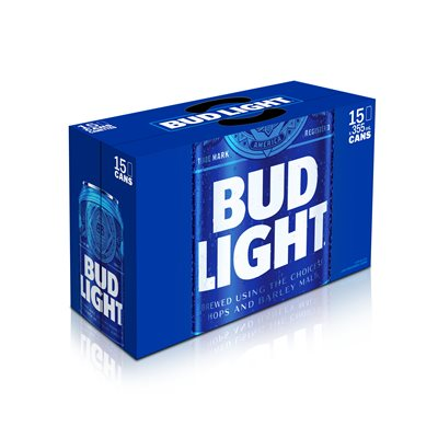 Bud Light 15 C