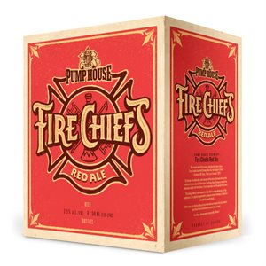 Pump House Fire Chief Red Ale 6 B