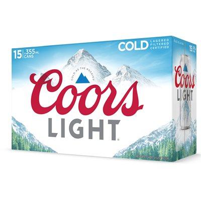 Coors Light 15 C
