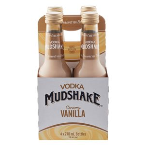 Vodka Mudshake French Vanilla 4 B