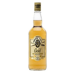Trader Vic Gold Rum 750ml