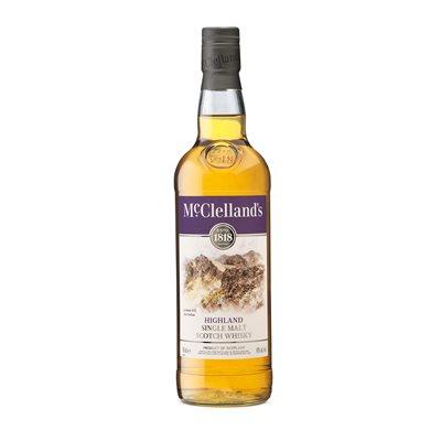 McClellands Highland Single Malt Whisky 750ml