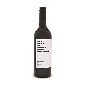 Morse Code Shiraz 750ml