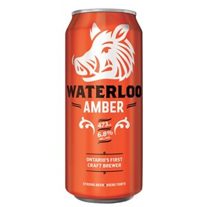 Waterloo Amber 473ml