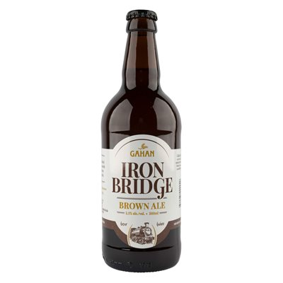 Gahan Iron Bridge Brown Ale 500ml