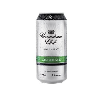 Canadian Club & Ginger 473ml