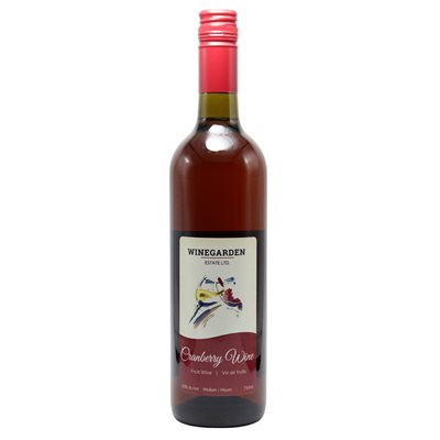 Winegarden Cranberry Wine 750ml