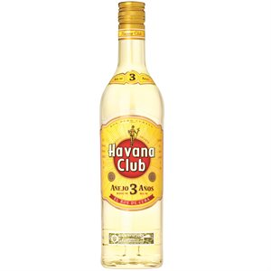 Havana Club Anejo 3 Anos 750ml