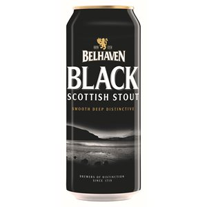 Belhaven Black Scottish Stout 440ml