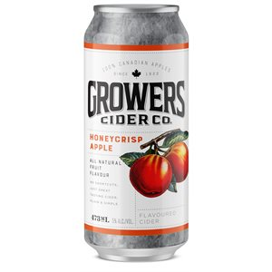 Growers Honey Crisp Apple Flavoured Cider 473ml