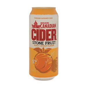 Molson Canadian Cider Stone Fruit 473ml