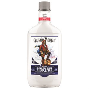 Captain Morgan White Spiced Rum 375ml
