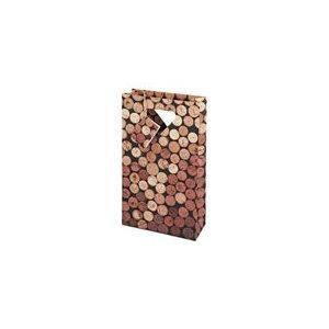 Wine Bag - Corks 2 Bottle #2222