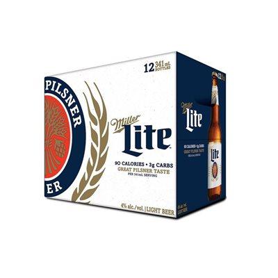 Miller Lite 12 B