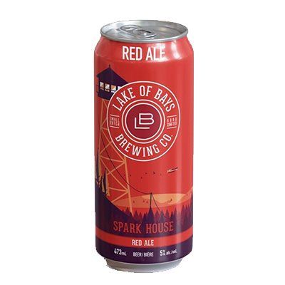 Lake Of Bays Spark House Ale Tall Can 473ml