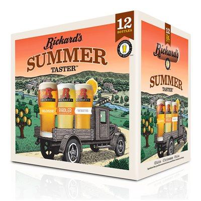 Rickards Summer Taster Pack 12 B
