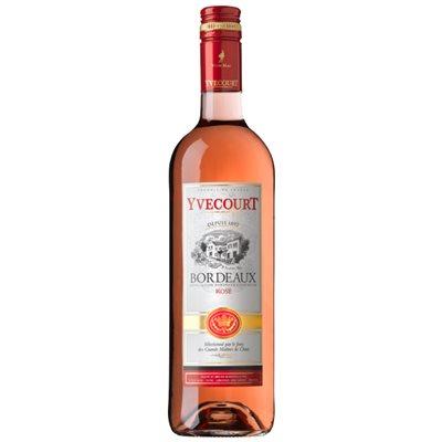 Yvecourt Bordeaux Rose AOC 750ml