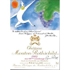 1982 Chateau Mouton Rothchild 750ml