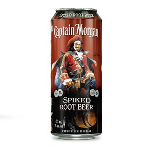 Captain Morgan Spiked Root Beer 473ml