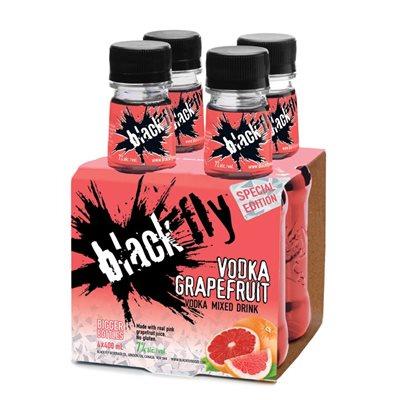 Black Fly Vodka Grapefruit 4 B