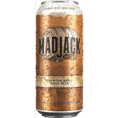 Mad Jack Hard Root Beer 473ml