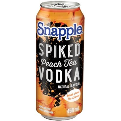 Snapple Spiked Peach Tea 458ml
