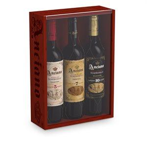 Anciano Gift Pack 5, 7 & 10 YO 750ml