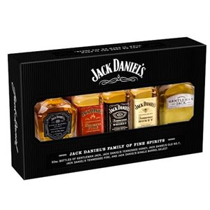 Jack Daniels Sampler Pack 5 x 50ml
