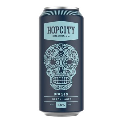 Hop City 8th Sin Black Lager 473ml
