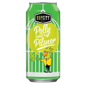 Hop City Polly Want A Pilsner 473ml