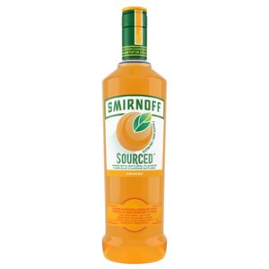 Smirnoff Sourced Valencia Orange Vodka 750ml
