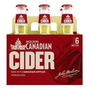 Molson Canadian Cider 6 B
