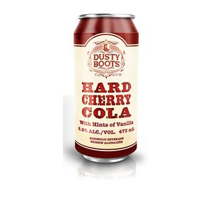 Dusty Boots Hard Cherry Cola 473ml