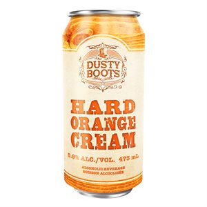 Dusty Boots Orange Cream 473ml