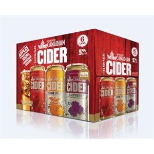 Molson Canadian Cider Mixer Pack 6 C