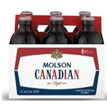 Molson Canadian Stubby Bottle 355ml
