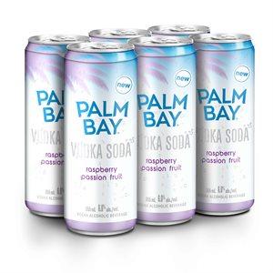 Palm Bay Vodka Soda Raspberry Passionfruit 6 C