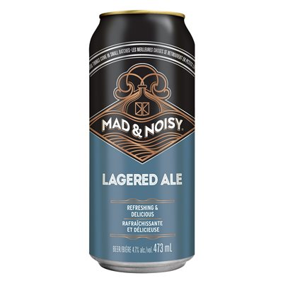 Mad & Noisy Lagered Ale 473ml