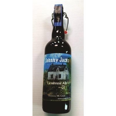 Johnny Jacks Farmhouse Ale 750ml