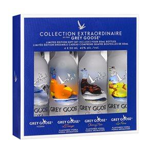 Grey Goose Minis Gift Pack 4 x 50ml