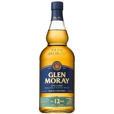 Glen Moray Single Malt Scotch 12 YO 750ml