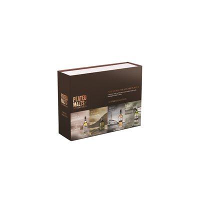 Peated Malts Of Distinction Sampler Pack 4 x 50ml