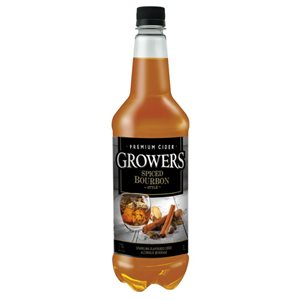 Growers Bourbon Spice Flavoured Cider 1000ml
