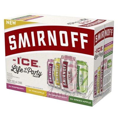 Smirnoff Ice Party Pack 12 C