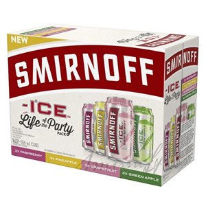 Smirnoff Ice Party Pack 12 C