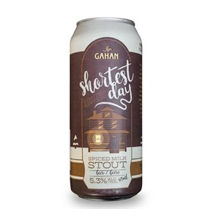 Gahan Shortest Day Spiced Milk Stout 473ml